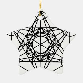 Metatronの立方体 セラミックオーナメント