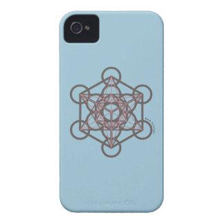Metatronの立方体 iPhone 4 Case-Mate ケース