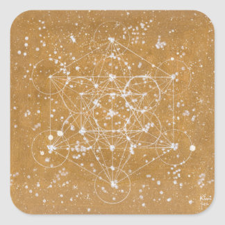 Metatronの立方体Stecker スクエアシール