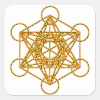 Metatronの金ゴールドの白熱 スクエアシール