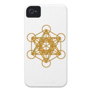 Metatronの金ゴールドの白熱 Case-Mate iPhone 4 ケース