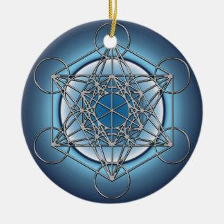 Metatronsの立方体 セラミックオーナメント