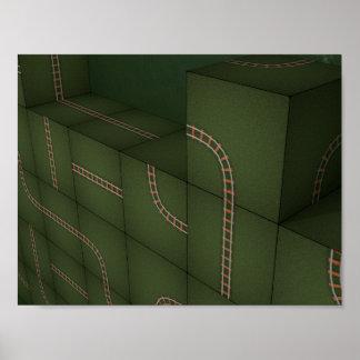 Metrisの立方体 ポスター