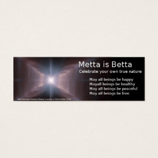 MettaはBettaです スキニー名刺