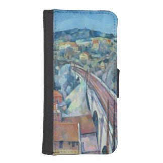 Meulenの鉄道橋 iPhoneSE/5/5sウォレットケース