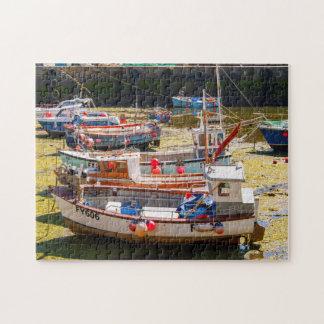 Mevagisseyの漁船 ジグソーパズル