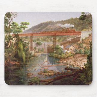 「MexicのアルバムからのAtoyacの鉄道橋、 マウスパッド