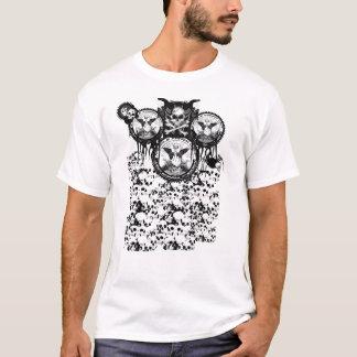 MFUのスカルのティー Tシャツ