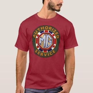 MG車のヴィンテージの印 Tシャツ