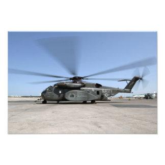 MH-53Eの海のドラゴンのヘリコプター フォトプリント