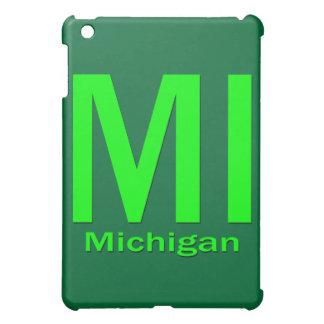 MIミシガン州の明白な緑 iPad MINIケース