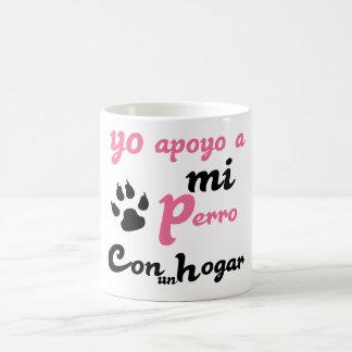 mi Perro Yoのapoyo コーヒーマグカップ