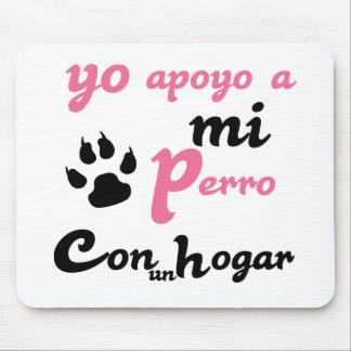 mi Perro Yoのapoyo マウスパッド