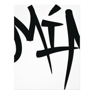 miaタイポグラフィ レターヘッド
