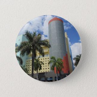 Miami Beachのアールデコボタン 缶バッジ