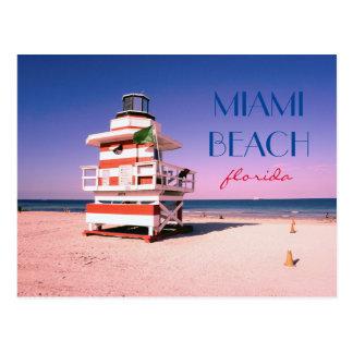 Miami Beachフロリダ#01 ポストカード