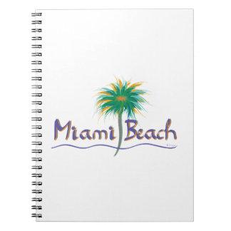 Miami Beach、フロリダ ノートブック