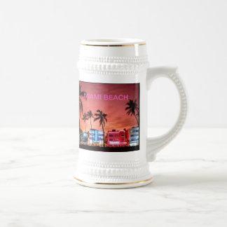 Miami Beach、フロリダ ビールジョッキ
