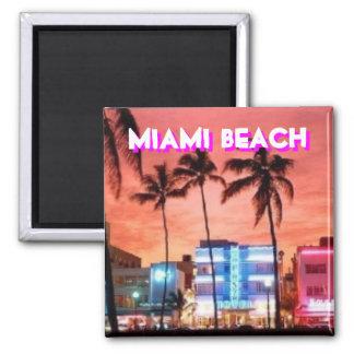 Miami Beach、フロリダ マグネット
