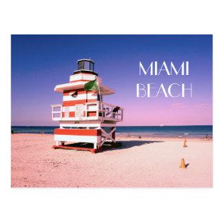 Miami Beach #01 ポストカード
