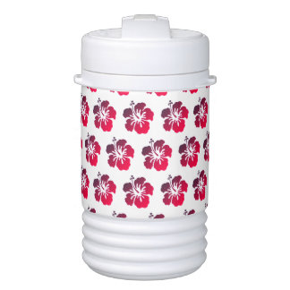 Miami Style Hibiscus Flower Igloo Beverage Cooler ドリンククーラー