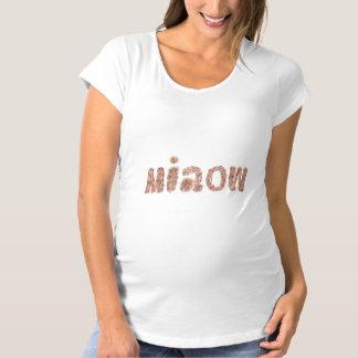 Miaowの母性のTシャツ マタニティTシャツ