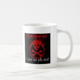 Micahのかっこい援助のマグ コーヒーマグカップ