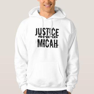 MICAHのフード付きスウェットシャツ媒体のための正義 パーカ