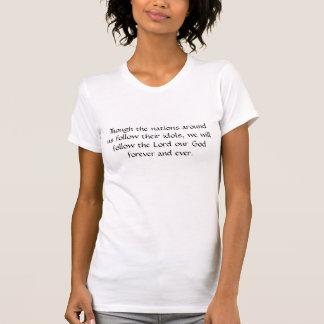 Micahの4:5 Tシャツ