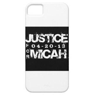 MICAHのIPHONE 5Sケースのための正義 iPhone SE/5/5s ケース
