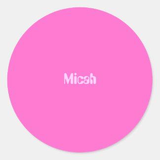 Micah ラウンドシール