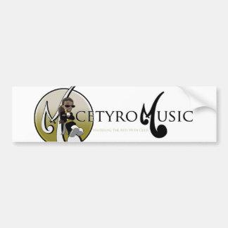 Micetyro音楽付属品 バンパーステッカー
