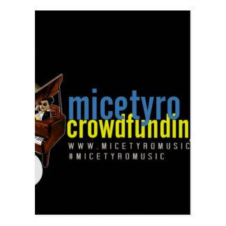 MicetyroMusic IndieGoGoのキャンペーン ポストカード