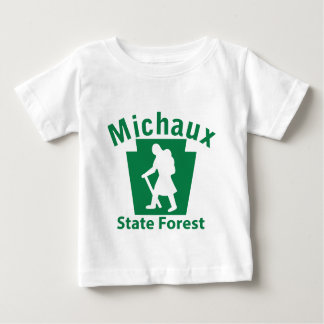 Michaux SFのハイキング(女性) ベビーTシャツ