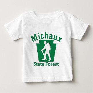 Michaux SFのハイキング(男性) ベビーTシャツ