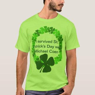 Micheal CoenとのSt patricks day Tシャツ