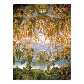 Michelange著絵を描かれる記述の最後の判断- ポストカード