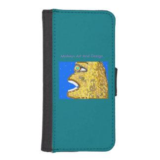 Mickeysの芸術およびデザインからのApeman、 iPhoneSE/5/5sウォレットケース