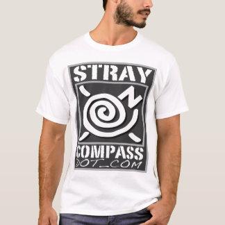 Microfiber - StrayCompass -銀製人 Tシャツ