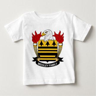 Midgeleyの家紋 ベビーTシャツ