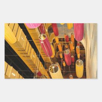 Midshipのエレベーターのバルコニーの眺め 長方形シール