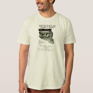 Midvaleの蒸気機関車の鍛造材1924年 Tシャツ