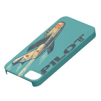 Mig 15のロシア人のジェット戦闘機 iPhone 5 Case-Mate ケース