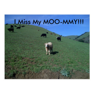 Miguelsは091を、私恋しく思います私のMOO-MMYを!描きます!! ポストカード