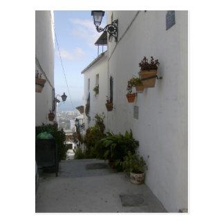 Mijas、スペイン ポストカード