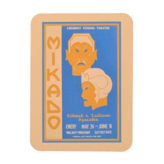 Mikado Gilbert及びサリバンの軽歌劇 マグネット