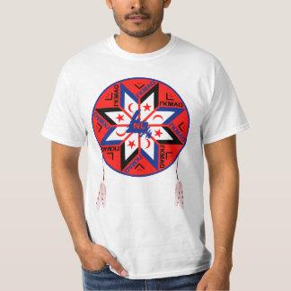 Mi'kmaqの三つに分かれた記号 Tシャツ