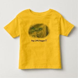MIKROSの影響のホツプ少しホッパーワイシャツ トドラーTシャツ