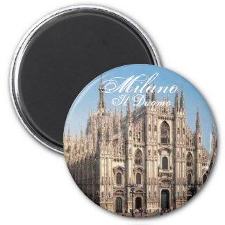 Milano_Duomoのミラノ、Ilの大教会堂 マグネット