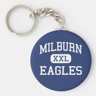 Milburn -イーグルス-高等学校- Milburnオクラホマ キーホルダー